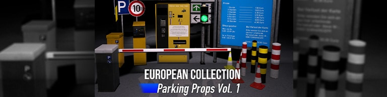 Parking Garage Props Vol. 1 jetzt verfügbar