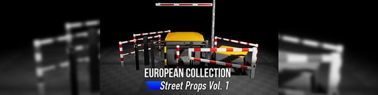 Street Props Vol. 1 Unreal Asset Pack jetzt verfügbar