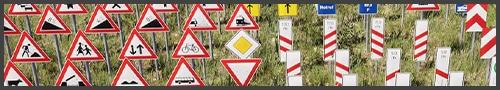 Deutsche 3D Verkehrschilder Vol. 2 - Bild