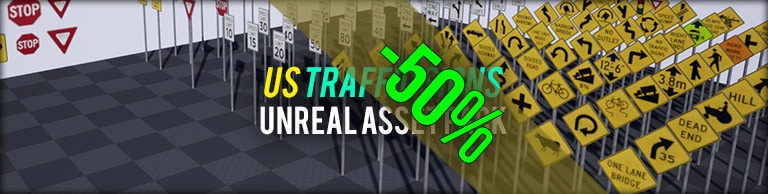 -50% off - US Traffic Signs Vol. 1 in Summer Sale