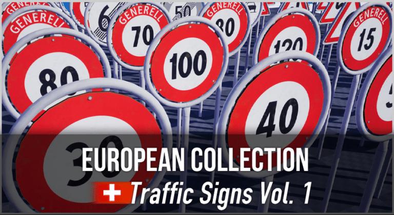 Artikelbild - Schweizer 3D Verkehrrschilder