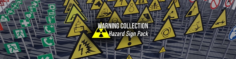 Warning Collection: Hazard & Warning Signs - Article Picture