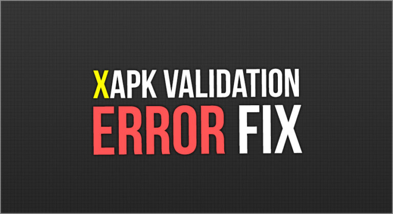 XAPK Validation Error Fix - Unreal Engine Tutorial