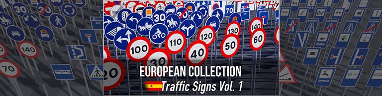 European Collection: Spanish Traffic Signs Vol. 1