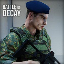 Menu Battle of Decay - Bild